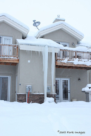 Biggest icicle I've ever seen!