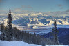 That yonder is Davey Jackson's Hole!  - The view from the top of Teton Pass.