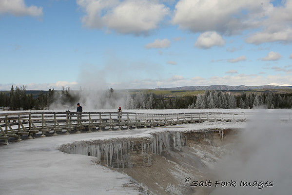 Excelsior Geyser.  Yellowstone National Park