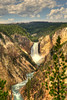 Lower Falls on the Yellowstone River - Yellowstone National Park
