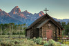 Chapel of the Transfiguration - Grand Teton National Park - Jackson Hole, Wyoming