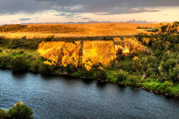 In the shadow of the Fall River Railroad Trestle - near Ashton, Idaho