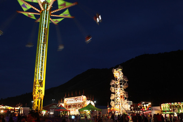 The Teton County (Wyoming) Fair is in full swing.
