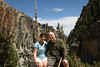James and Jill enjoy the first day of their 28th year of marriage on a trail in Grand Teton National Park