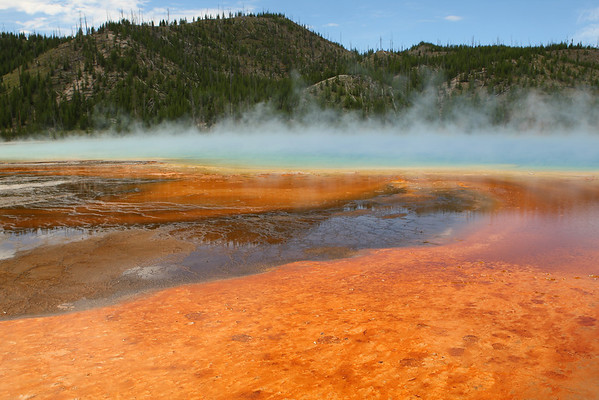 Grand Prismatic Spring - Yellowstone National Park