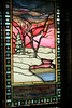 Stained glass window in the Chapel of the Transfiguration - GTNP, Wyoming