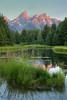 Schwabacher's Landing Sunrise - Grand Teton National Park, Wyoming