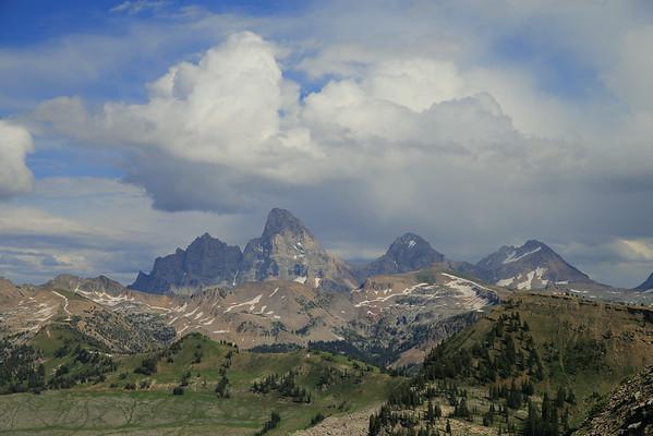 The Teton Range from Fred's Mountain - Grand Targhee Ski Resort - Alta, Wyoming