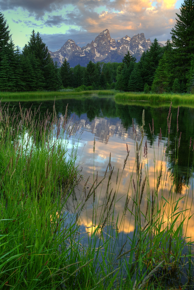 Schwabacher's Landing Sunrise - GTNP - Wyoming