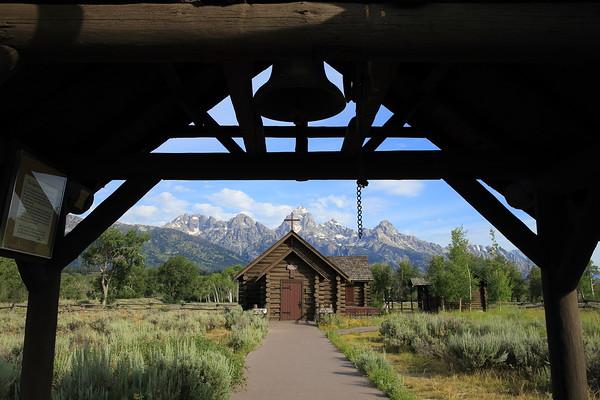 Chapel of the Transfiguration - Grand Teton National Park, Wyoming