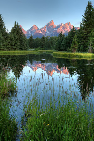 Schwabacher's Landing at Sunrise - GTNP - Wyoming