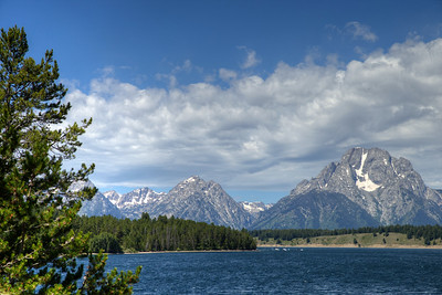 Mount Moran and Jackson Lake - Grand Teton National Park, Wyoming