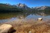McGown Peak and Stanley Lake - Sawtooth Range - Central Idaho