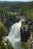 Upper Falls on the Yellowstone River - Yellowstone National Park