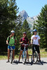 Sara's friend, Avery, joined Sara and Aaron for a bike ride in Grand Teton National Park.