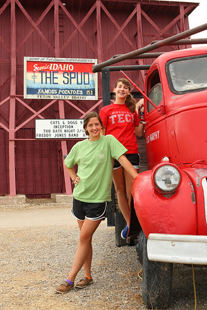 The SPUD Drive-in is a favorite hangout in Driggs, Idaho.