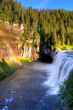 Upper Mesa Falls.