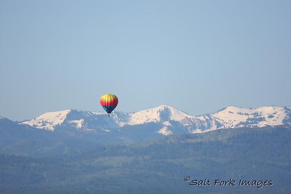 Balloon rides in Jackson Hole!