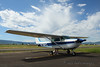 This is the Cessna 172 that the kids and I rode in for our scenic flight over the Tetons.  It was awesome!