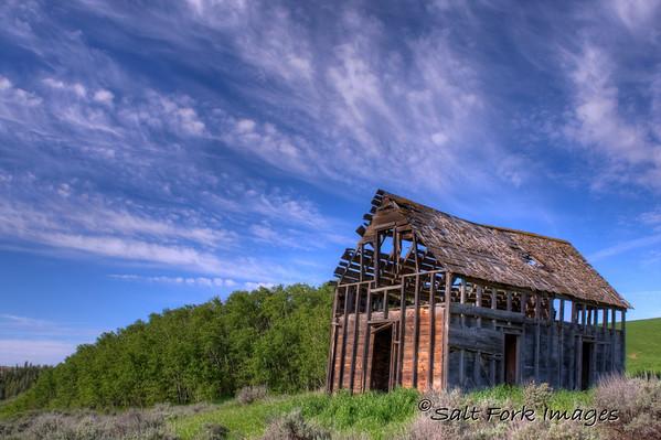 One of my favorite old barns in Idaho.  June 24, 2010.
