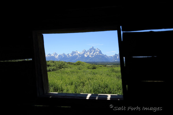 Room with a View at the Cunningham cabin - GTNP