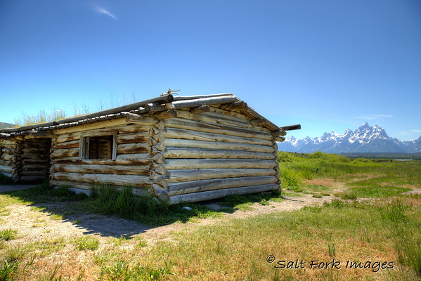 The Cunningham Cabin in Jackson Hole