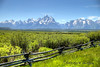 Jackson Hole, Wyoming and The Tetons