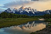 Sunrise at Schwabacher's Landing - Grand Teton National Park - Jackson Hole, Wyoming - June 2017