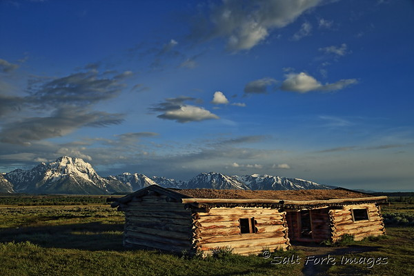 Cunningham Cabin - Grand Teton National Park - Wyoming