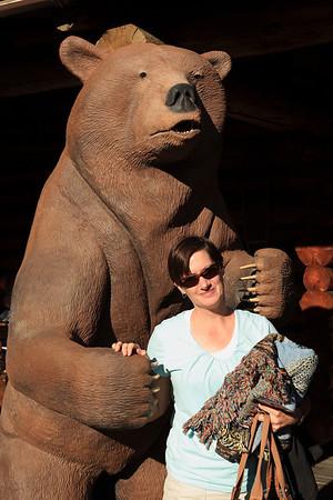 Eeeeeek a bear!