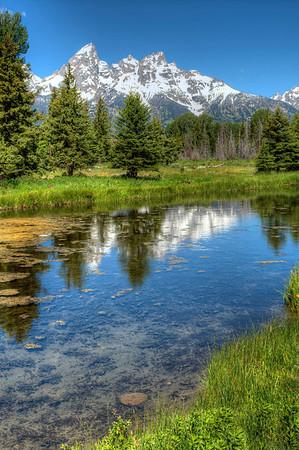 Schwabacher's Landing - Grand Teton National Park, Wyoming - July, 2011