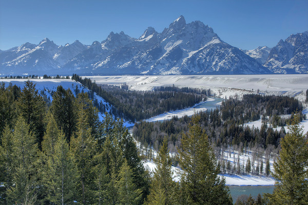 I never get tired of the Snake River Overlook - Jackson Hole, Wyoming