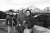 Ronnie, James, and David - Channeling Ansel Adams at the Snake River Overlook - GTNP.