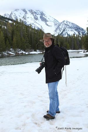 May in Wyoming - Snow at String Lake