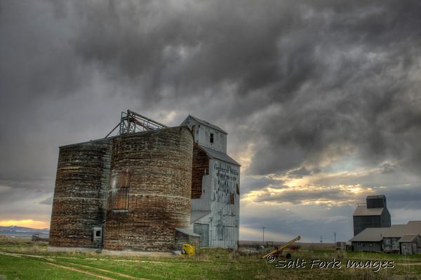 Grain Elevator in Tetonia, Idaho.