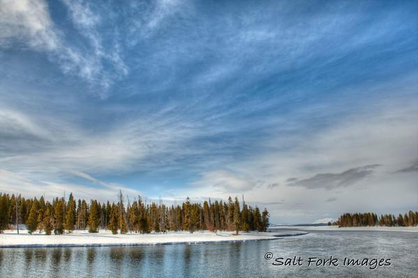Yellowstone Lake - Near Fishing Bridge, YNP