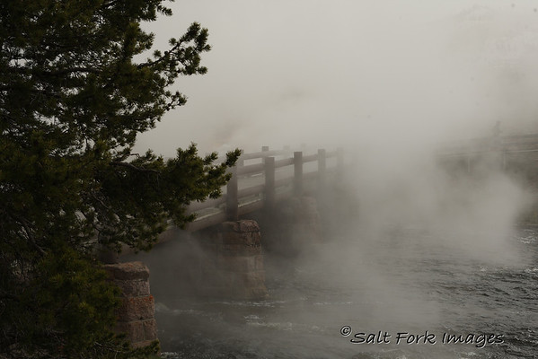 Bridge over the Firehole River - YNP