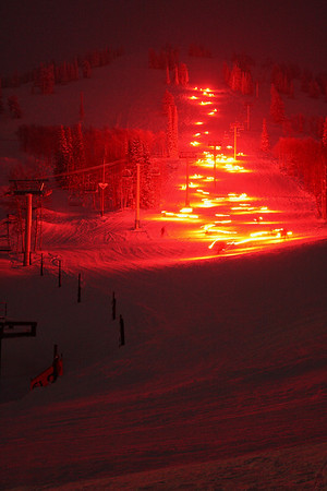 New Year's Eve Torchlight Parade at Grand Targhee