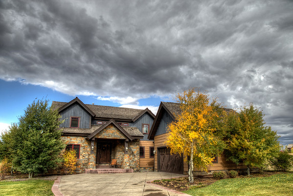 Home Sweet Home - We had three hail / sleet storms that day.