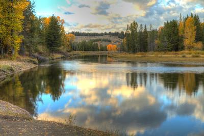 Near Cattleman's Bridge on the Snake River - Grand Teton National Park - Wyoming