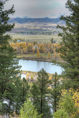 Swan Valley, Idaho and the Snake River