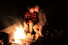 NEVER let a good campfire go to waste:  Steal a smooch when you can!