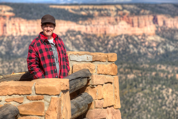 Jill hanging out at Bryce Canyon National Park in Utah