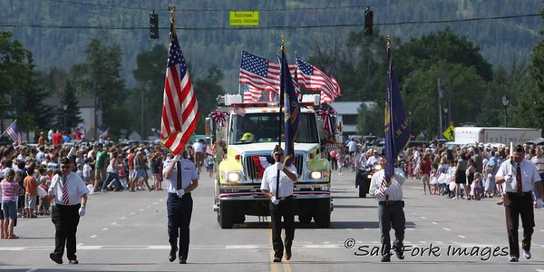 Independence Day in Victor, Idaho!  It doesn't get much better than this!