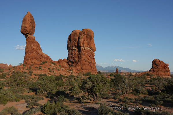 Balancing Rock in Arches National Park near Moab, Utah, is one of my favorite spots.....<br /> I took these on the way to Idaho.