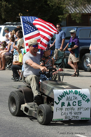 Mark your calendars.  July 26th is the big Lawnmower Race in Victor.