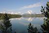 Jackson Lake and the north end of the Teton Range.