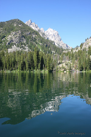 On Saturday, July 12th, David and I rode the ferry across Jenny Lake to Cascade Canyon.  We hiked 4.5 miles up the canyon seeing Hidden Falls, Inspiration Point, and some beautiful scenery.