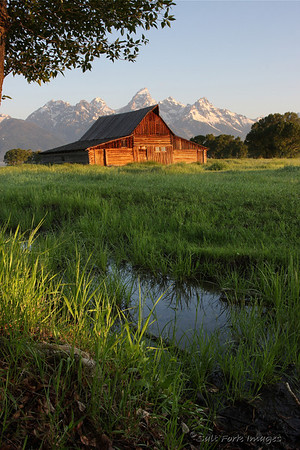 Moulton Barn in Grand Teton National Park.