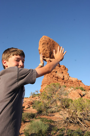 Aaron defeated the giant and replaced the rock for all to enjoy!